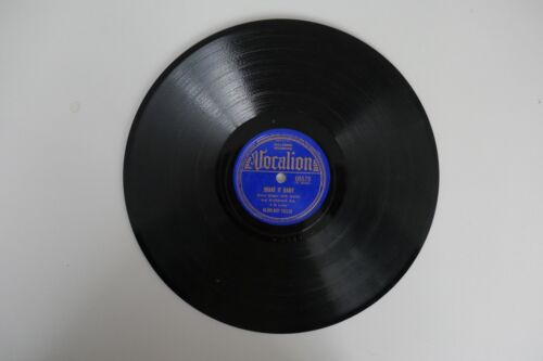 Blind Boy Fuller  Shake it Baby / Worn Out Engine Blues 78 Record Vintage