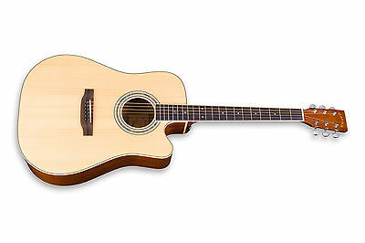 Zager Easy Play ZAD50CE Natural Acoustic Electric Guitar...rated in the top 2%! for sale  Los Gatos