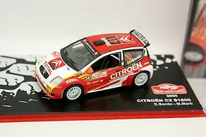 Ixo-Stampa-Rally-Installa-Carlo-1-43-Citroen-C2-S1600-2005