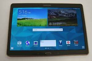"""Samsung Galaxy Tab S (Model: SM-T805Y) 10.5""""/16GB/4G -Gold Colour Nerang Gold Coast West Preview"""