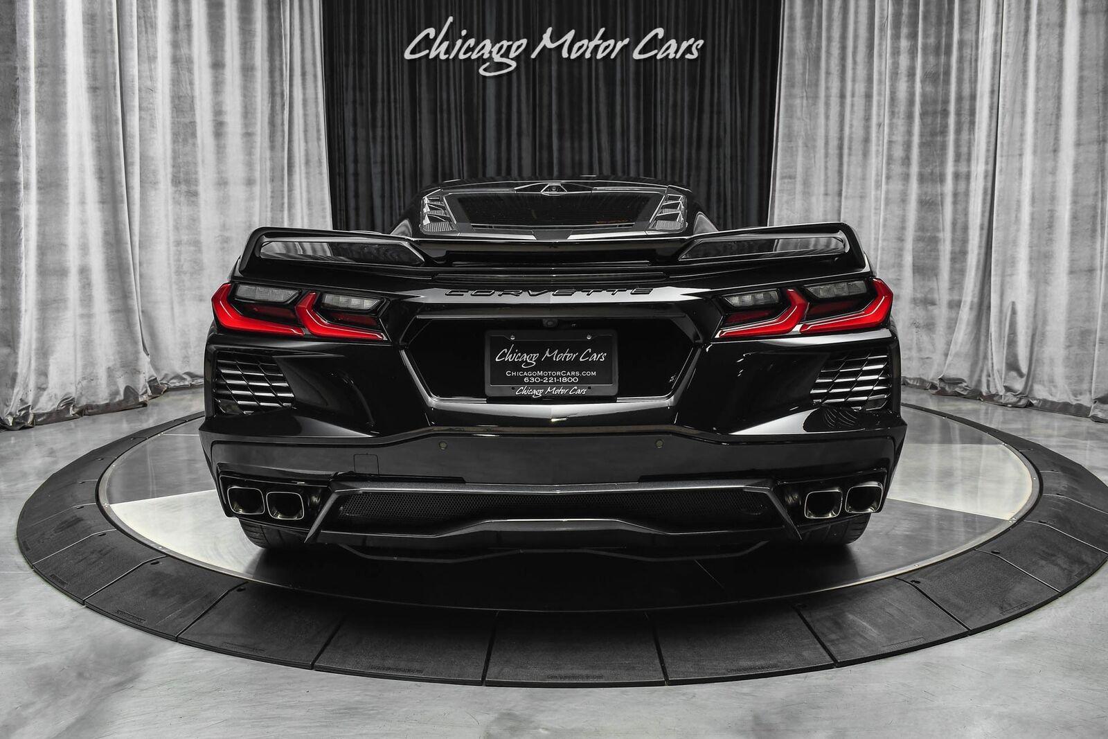2020 Black Chevrolet Corvette Stingray 3LT   C7 Corvette Photo 4