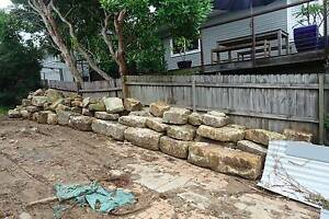 Sandstone Blocks North Balgowlah Manly Area Preview