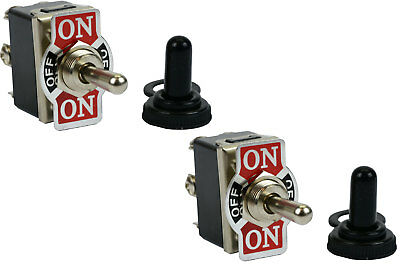 2 Pc 20a 125v Toggle Switch On-off-on Dpdt 6 Terminal Momentary 1 Sideboot