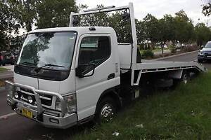 Mitsubishi Fuso 2009 Tilt Tray Tow Truck with manual turbo diesel Beaumont Hills The Hills District Preview