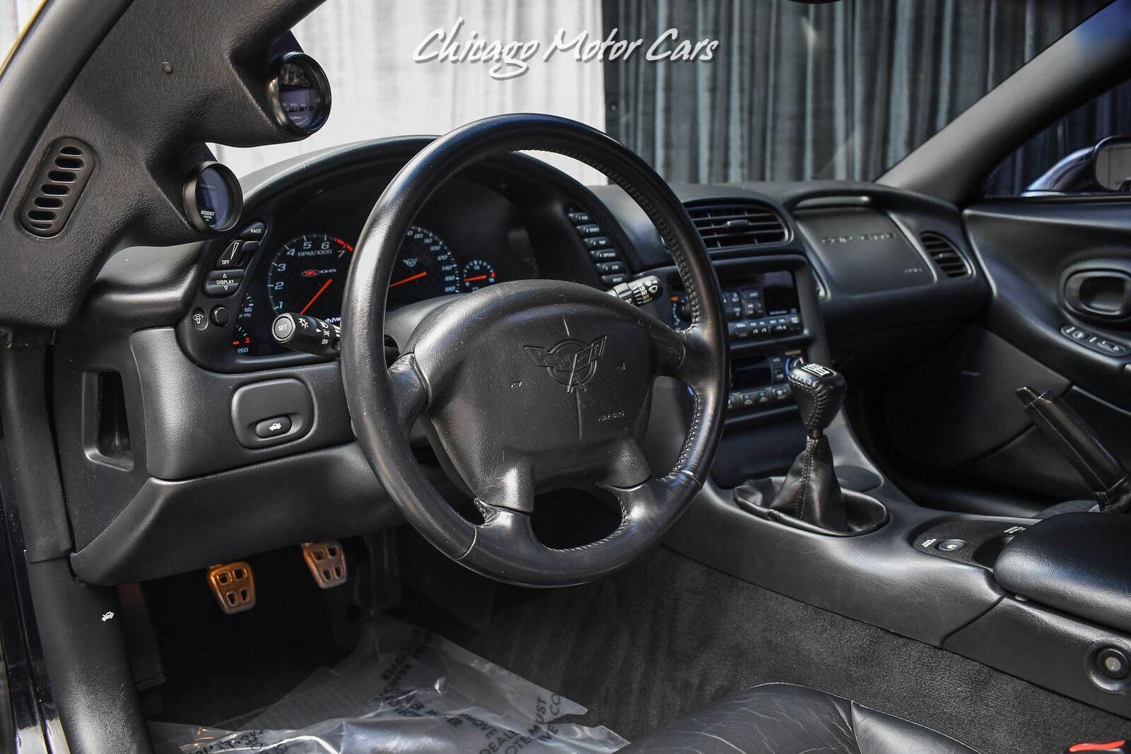 2003 Black Chevrolet Corvette Z06  | C5 Corvette Photo 8