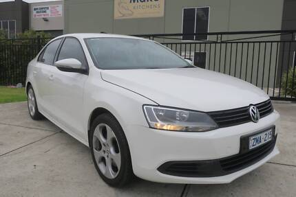 2012 Volkswagen Jetta 1B MY12 118TSI DSG White 7 Speed Automatic Campbellfield Hume Area Preview