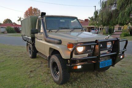 Toyota Landcruiser UTE diesel 4x4