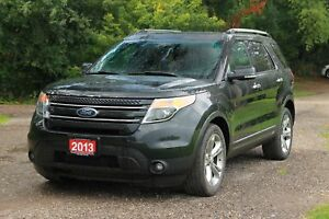 2013 Ford Explorer Limited 7 Passenger   AWD   CERTIFIED