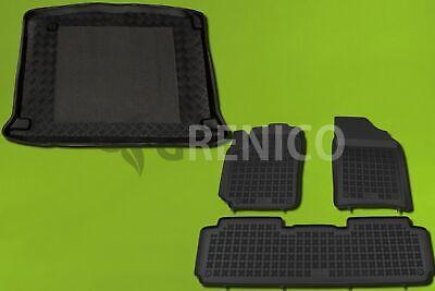 CITROEN XSARA PICASSO 00-07 mit Einkaufstrolley Kofferraumwanne/&Gummi-Fußmatten