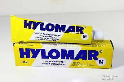 HYLOMAR M 80ML TUBE DICHTUNGSMASSE DICHTMASSE UNIVERSALDICHTUNG BLAU