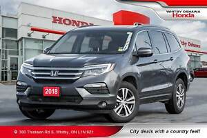 2018 Honda Pilot Ex-L w/RES | Heated Seats, Rear Entertainment S