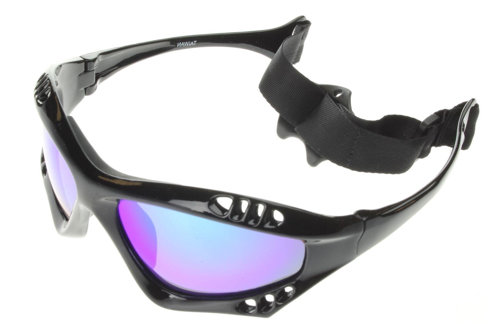 72990af5a94 Details about Polarized Water Sport Sunglasses Kitesurfing Jetski Boating  Case Green Mir 603