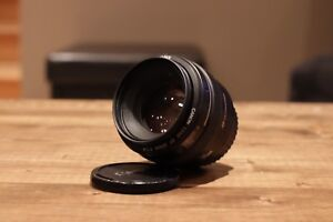 Canon 50mm f1.4 w/ UV Filter