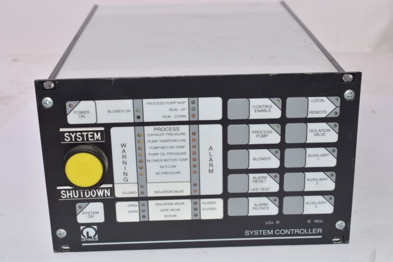 Laeybold, Part: 307285-2002F, 00110039, System Controller