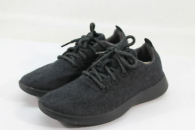 Allbirds Women's Wool Runners Natural Black Comfort Shoes NW