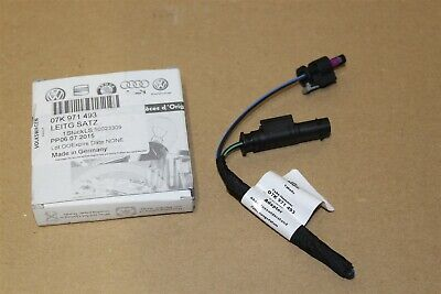 Single Adapter Cable Loom 07K971493 New Genuine Audi part