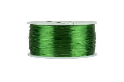 Temco Magnet Wire 30 Awg Gauge Enameled Copper 155c 1lb 3132ft Coil Green