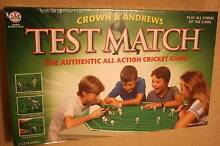 Test Match, Crown & Andrews, unopened, board game Joondalup Joondalup Area Preview