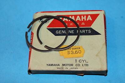 1 NOS Genuine Yamaha JT1 JT2 /& RD 60 1st o//s Piston Ring Set OEM 288-11601-10-00