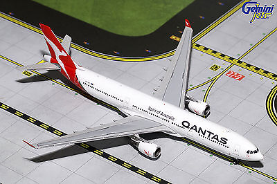 Gemini Jets Qantas Airways Airbus A330-300 GJQFA1625 1/400, REG# VH-QPJ. New