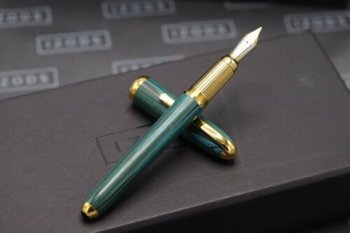Cartier Louis Cartier Dandy Limited Edition Green Ebonite LE Fountain Pen 1