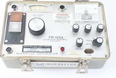 Magnaflux Fm-120a Conductivity Measuring Instrument