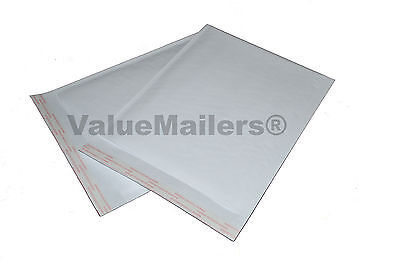 250 0 6.5x10 Kraft White Bubble Mailers Cd Dvd Vm Terminator