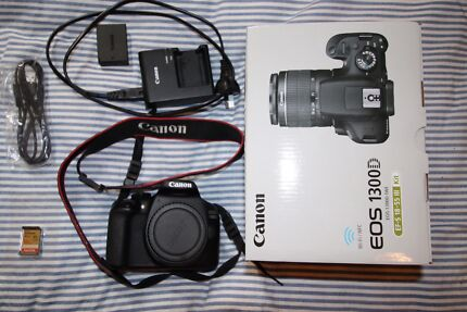 Barely used Canon EOS 1300D with SD card! [BODY ONLY]