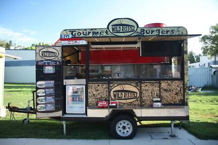 Wild Rissole food trailer and catering business for sale