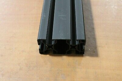 8020 T-slot Ul Smooth Aluminum Extrusion 15 Series 1530-uls X 53.39 Black F3-02