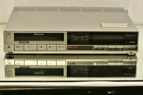 Sony Betamax Player SL-10 Beta VCR VTR Video Cassette Recorder