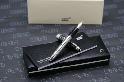Montblanc Meisterstuck 146 LeGrand Solitaire Black Prisma Fountain Pen
