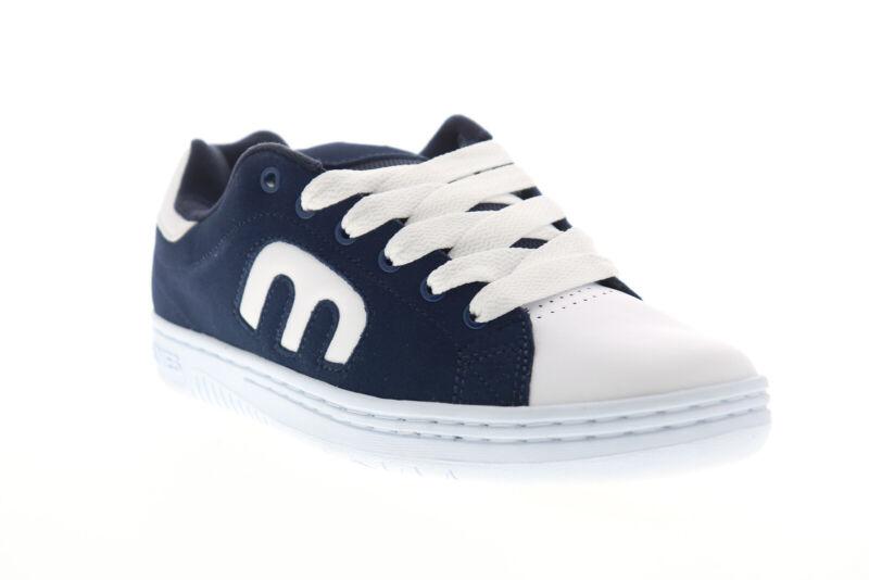 Etnies Calli Cut 4101000505155 Mens White Blue Skate Inspired Sneakers Shoes