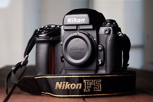 Nikon F5 Professional 35mm Film Camera
