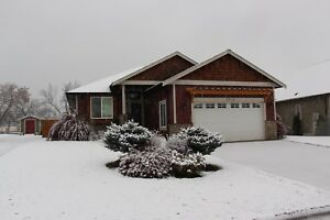 Price Reduced. 4 Bedroom 3 Bathroom Rancher in Armstrong BC