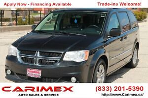 2011 Dodge Grand Caravan Crew Stow-N-Go | CERTIFIED