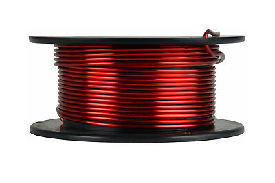 Temco Magnet Wire 13 Awg Gauge Enameled Copper 4oz 155c 15ft Coil Winding