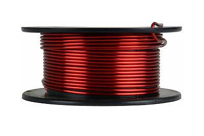 Temco Magnet Wire 13 Awg Gauge Enameled Copper 4oz 155c 15ft Coil Winding