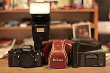 Nikon F3 with Sb-16 Flash and Motor Drive Forest Lodge Inner Sydney Preview
