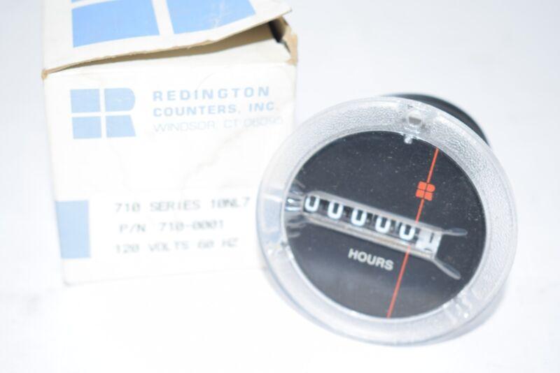 NEW Redington 710-0001 Panel Mount Timer, Model 710, Electromechanical, 115 VAC,