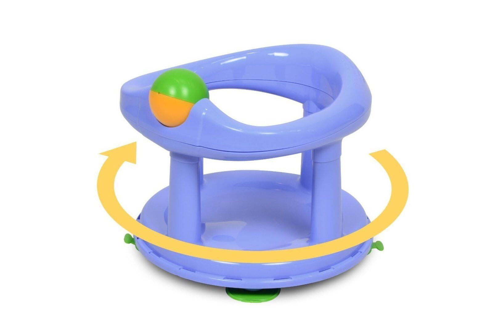 Safety 1st Swivel Bath Seat for Baby Bathing Support Seat - Pastel ...