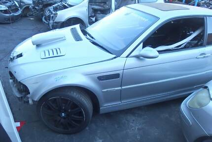 Wrecking Damaged BMW M3 E46 Coupe Engine SMG Mag Lights Revesby Bankstown Area Preview