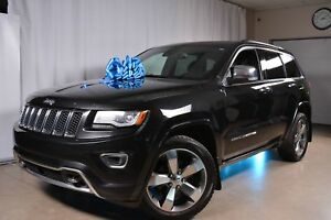 2014 Jeep Grand Cherokee 4x4 Overland Cuir Toit panoramique Navi