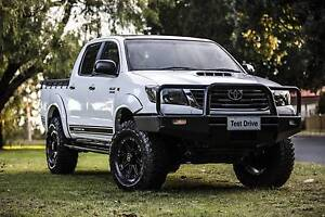 2012 Toyota Hilux SR Manual 4x4 MY12 Double Cab+Extras Carlisle Victoria Park Area Preview