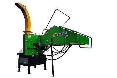 Wc-8h Wood Chipper With Self-contained Hydraulics From Victory Ti