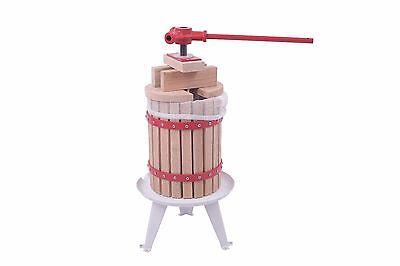 Saftpresse Obstpresse Weinpresse mechanische Presse Obstmühle Maischepresse 12L