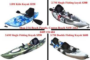 Central Coast kayak 2.7M fishing kayak package Canton Beach Wyong Area Preview