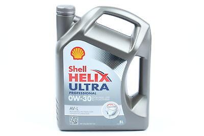 Shell Motoröl Helix Ultra Professional AV-L 5Liter 0W30 ACEAC3 VW 504.00/507.00