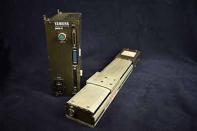 Yamaha Drc2 Robot Controller With Flip Series Fs-250 Linear Slide Robot Actuator