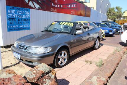 2001 Saab 9-3 Convertible **1 YEAR WARRANTY** Victoria Park Victoria Park Area Preview